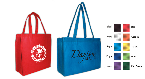 Custom Screenprinted Non-Woven Tote Bags