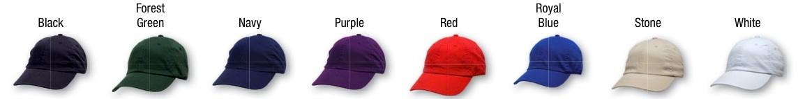 Cap Colors